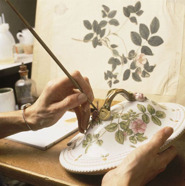 Inspired by botanical illustrations