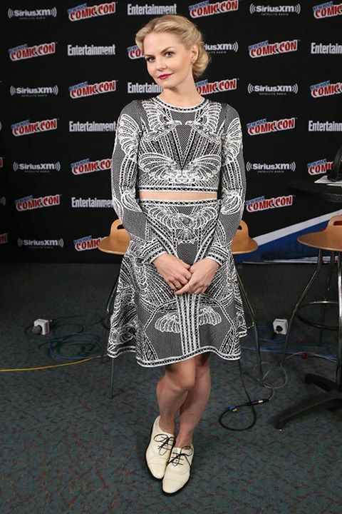 Jennifer Morrison - New York Comic Con - Press Room (9 October 2015)