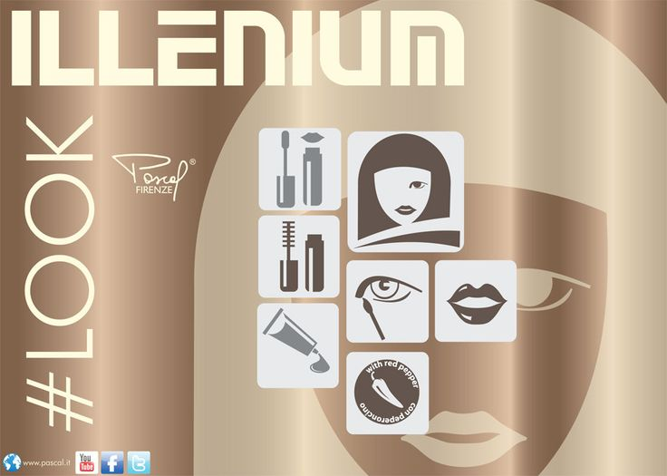Illenium #Look is a new  #makeup collection 2014/2015 by Pascal Firenze.