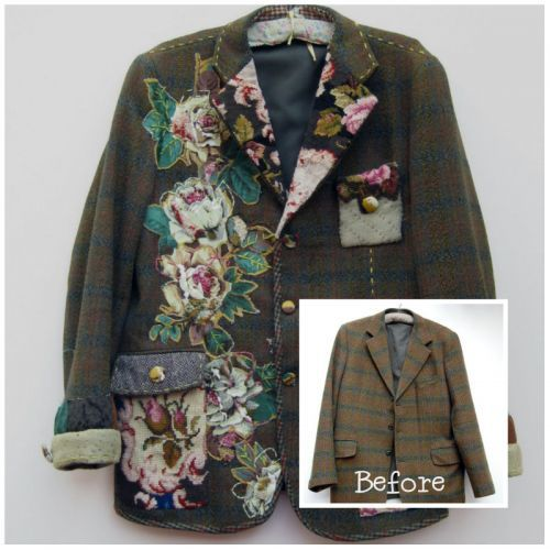 Recycled clothes. Lots of DIY ideas and inspirations