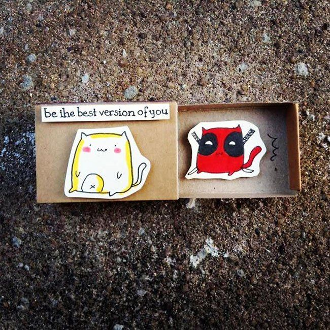 creativas cajas de cerillas 7