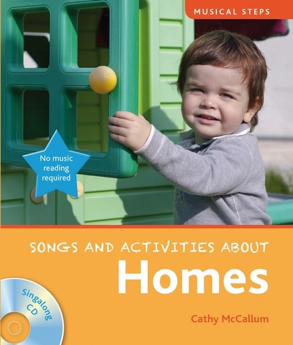 Musical Steps: Songs & Activities About Homes - Book & CD. £9.99