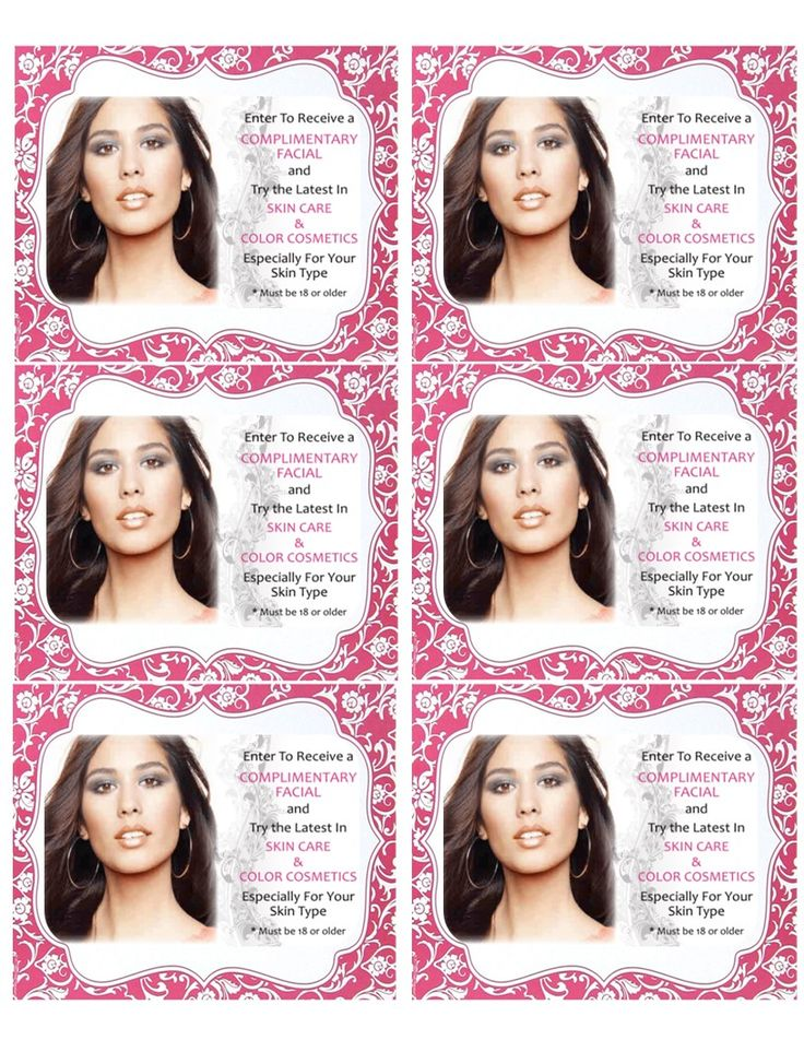 Facial box label use avery 15264 template avery 5164