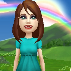 I love my #ZyngaAvatar! Head to Zynga.com to make your own today.