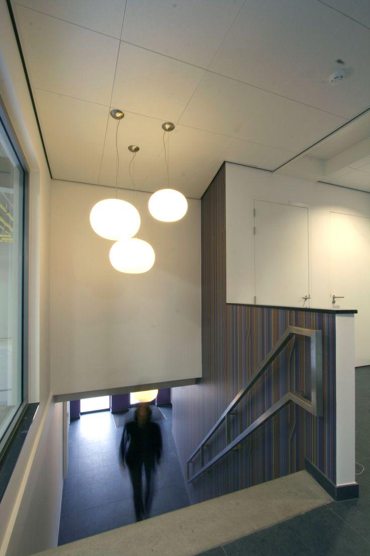Ontwerp trappenhuis kantoor. Zie www.liiv.nl of like ons op Facebook