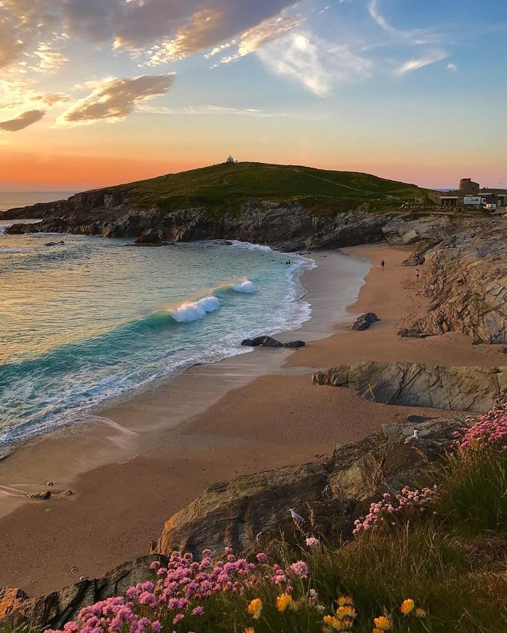 Little Fistral Beach, Newquay, Cornwall #travel #tourism #greatbritain #vacation… – Sascha Schulte