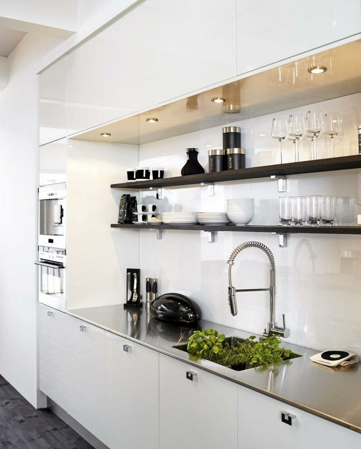Kitchen shelves for Muebles de cocina en esquina