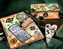 Tři projekty z kolekce Chronology z časopisu Scrapování