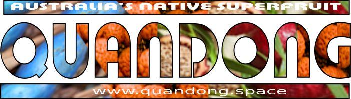 Quandong ~ Australia's Native Peach ! Logo