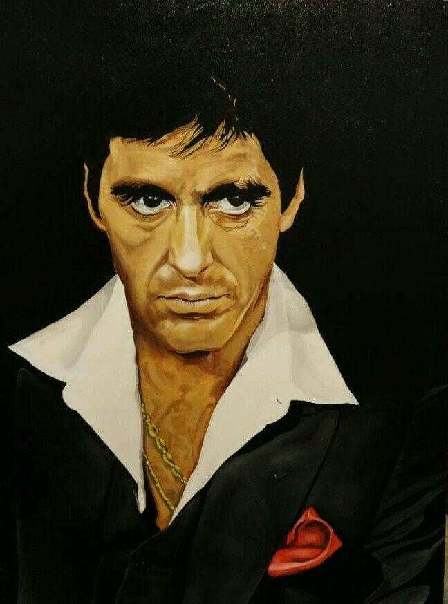Tony Montana - Artist: Daking Y