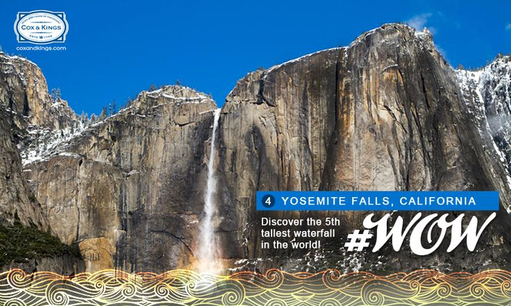If you were to place the Eiffel Tower over the Sears Tower, you'd get close to the height of these iconic falls! #WorldOfWaterfalls #travel #CnK