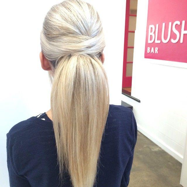 """Blushbar do-me-up-up-do #fancypony #hairbygez @hairbygeraldine #hairstyle #instahair #hairstyles #haircolour #haircolor #hairdye #hairdo #haircut #longhairdontcare  #fashion #instafashion #straighthair #longhair #style #straight  #blonde  #hairoftheday #hairideas  #perfectcurls #hairfashion #hairofinstagram #coolhair"" Photo taken by @blush_bar on Instagram, pinned via the InstaPin iOS App! http://www.instapinapp.com (05/05/2015)"