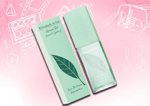 Green Tea -  Elizabeth Arden, this purfume smells so delicious, you can this at Marshalls, TJ Max or Ross.