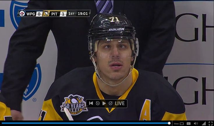 Evgeni Malkin Immediately After Scoring : penguins