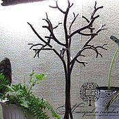Кованые изделия Макаров и сыновья, Подставка для бижутерии, ключей и других мелочей Деревце