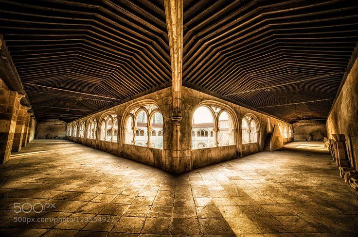 Mosteiro de Alcobaça by gilmbento
