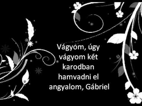 Rúzsa Magdi - Gábriel lyrics - YouTube