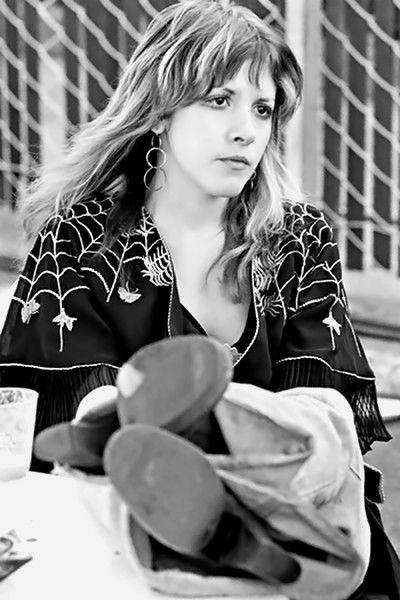 Stevie Nicks - 'Day On The Green Festival' in Oakland, April 25, 1976. Love her spider web shawl.