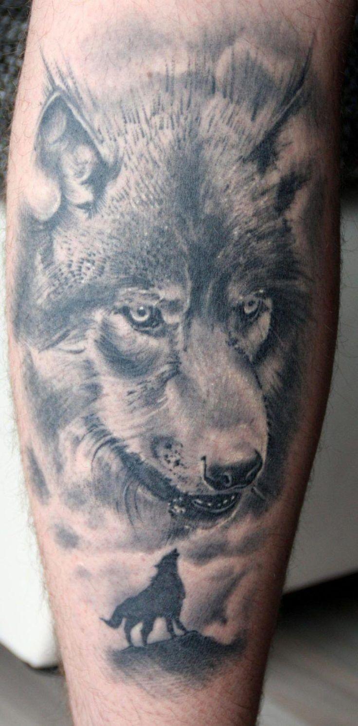 Тату волка снайпера фото