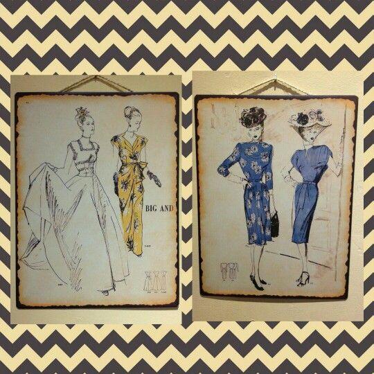Preciosas chapitas de maniquies inspirados en los '50. Un homenaje a la serie Velvet por el encanto de los personajes, su estilo, su moda y la época en la que esta basada. Puedes conseguirlas en nuestra tienda