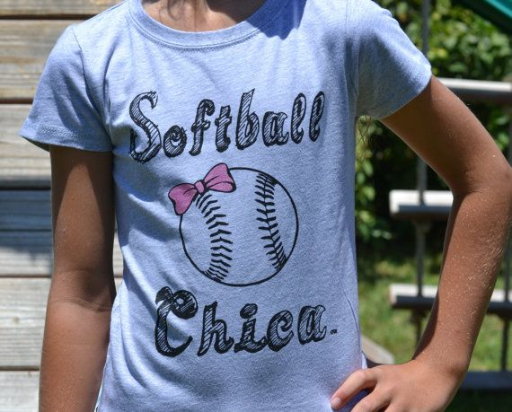 Hey, I found this really awesome Etsy listing at https://www.etsy.com/listing/195761711/softball-shirt-girls-softball-shirt