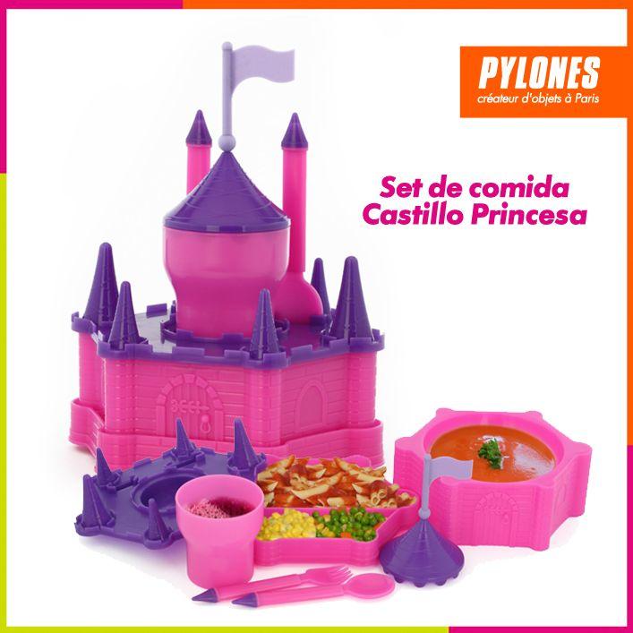 Set de comida castillo princesa #DíaDelNiño #FelizDíadelNiño @pylonesco