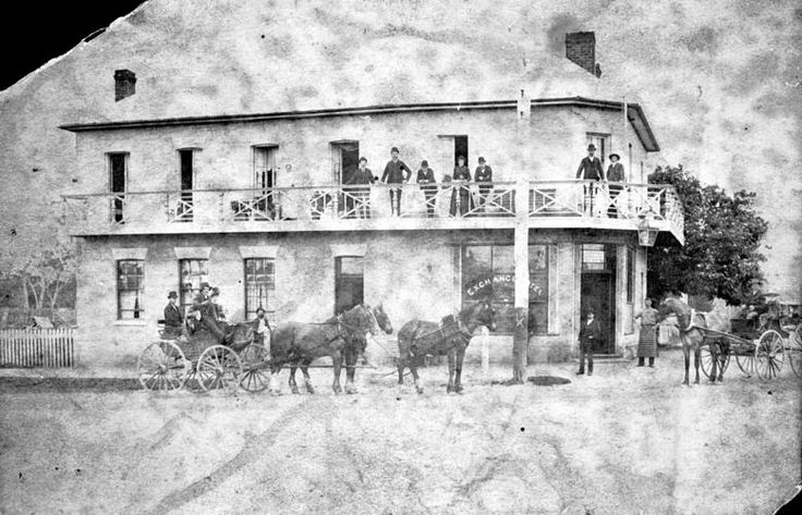 Royal Exchange Hotel Rosedale - the Cobb and Co stop over.  Rosedale Victoria, Gippsland.