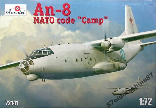 Antonov An-8 Camp -1:72