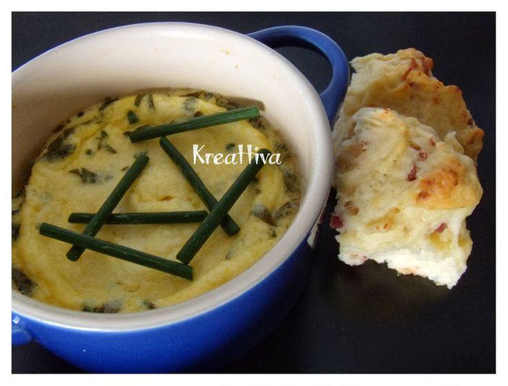 Kreattiva: Frittata al forno con erba cipollina