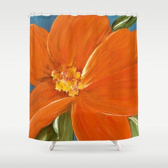 fleur d'oranger Shower Curtain by FINE ART By LAURA | Society6
