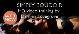 Simply Boudoir by Damien Lovegrove