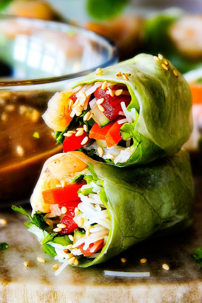 Easy shrimp spring rolls recipes