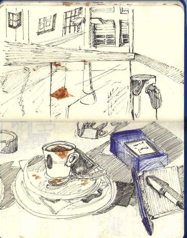 SketchBook & Coffee by Ana Varela, via Behance