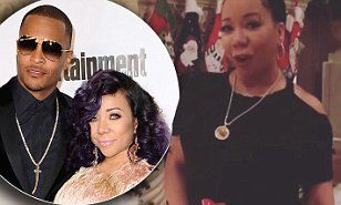 Tameka 'Tiny' Cottle, 40, reveals she's pregnant with husband T.I.'s 7th child | Daily Mail Online