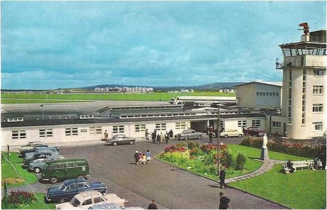 Shannon Airport Terminal Building 1950s