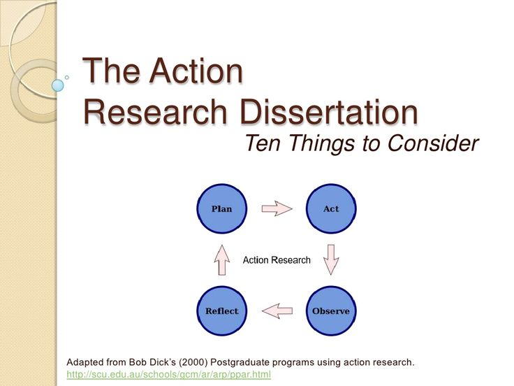action dissertation research Action research dissertation 187 likes action research dissertation is quite rare in malaysia as a post graduate student, i found myself struggling.