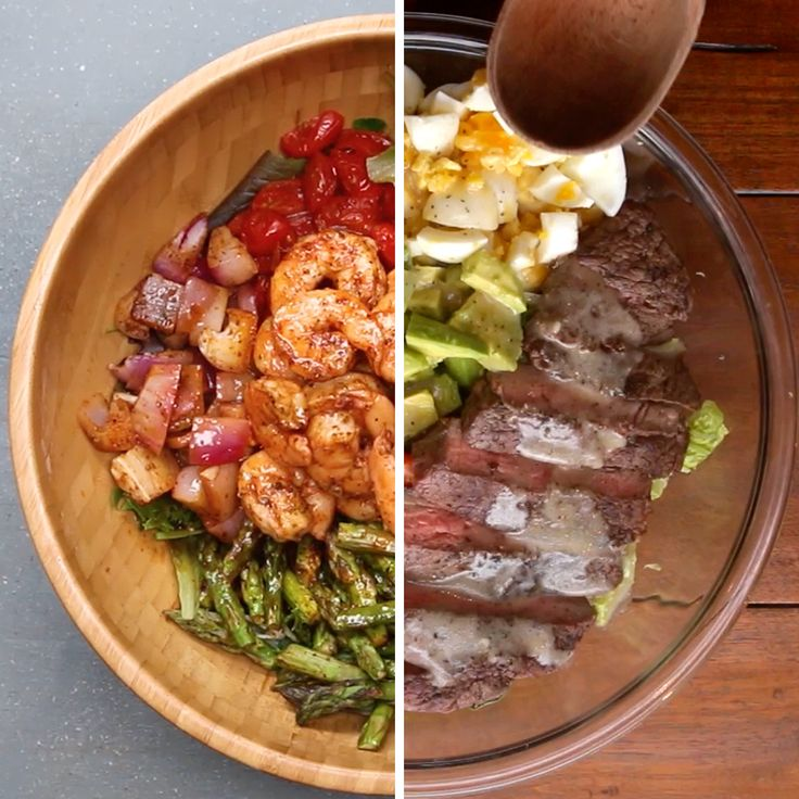 New Year, New Me: High Protein Meals by Tasty