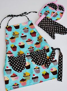 Free pattern day:  Aprons