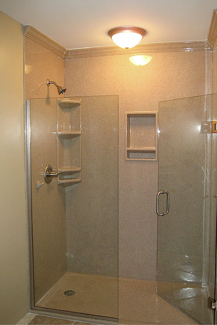 3 steps to add trim and borders to diy shower wall panels on shower wall panels id=29260