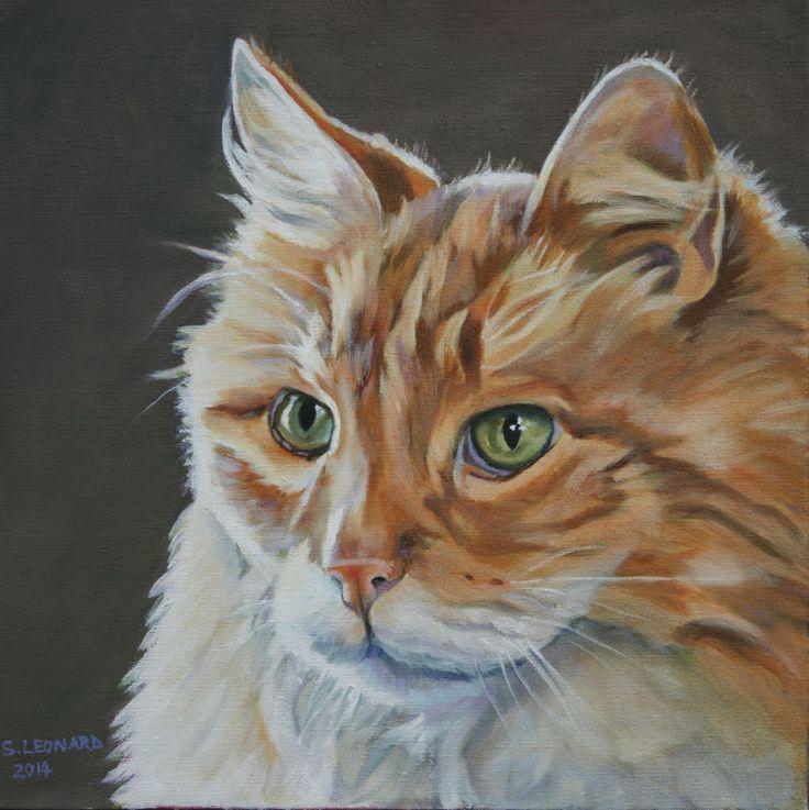 Check out #pet portrait #art by Suzanne Leonard http://pawsforreaction.blogspot.ca/2014/04/pet-portrait-artist-honors-pets.html
