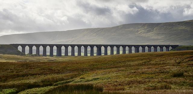 Ribblehead Viaduct by Baz Richardson, via Flickr
