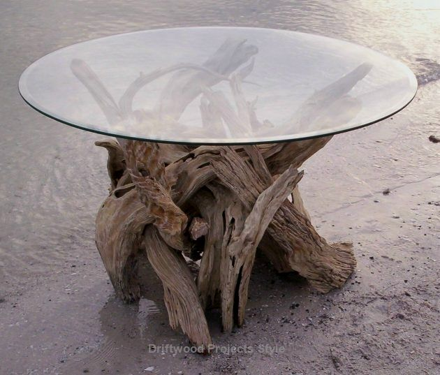 How To Make A Driftwood Christmas Tree Driftwood Coffee Table