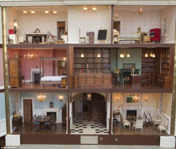 1177 Best Miniature Houses & Rooms Images On Pinterest