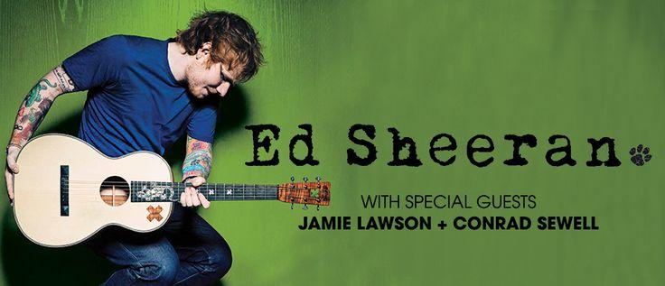 Ed Sheeran Australian Tour @ Brisbane Riverstage 2015.