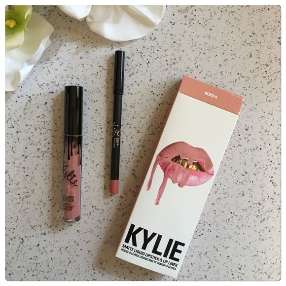 Kylie Jenner Lip Kit KOKO K - BNIB Sold Out for the 2nd time! Love these! I have all shades! Kylie Jenner Makeup Lipstick