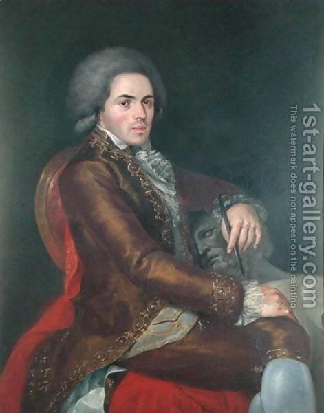 Portrait of Manuel Tolsa by (after) Ximeno y Planes, Rafael.... Great Grandfather