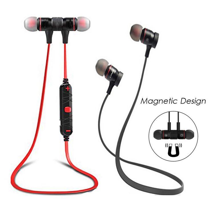 Magift Brand Original  Smart Bluetooth Earphone Wireless Earpieces Super Bass Headset Sport Running Headphones With Mic