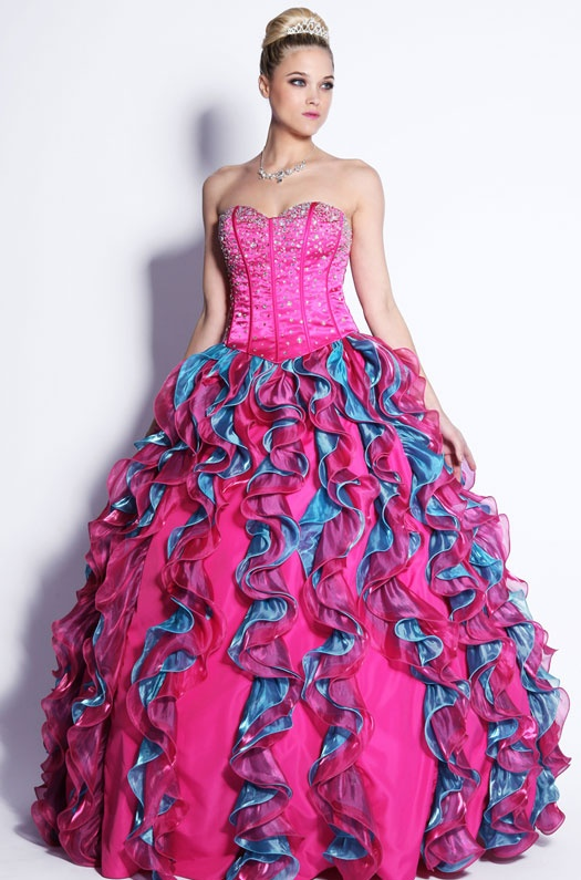 is a ballroom gown appropriate for an adult pageant?