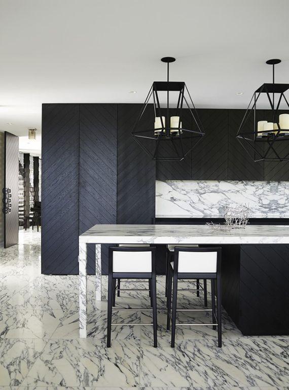 Minimalistic black kitchens   Image by Anson Smart