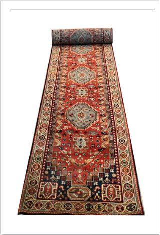 Ghashghaie DesignRug  Semi-Tribal geometric Persian Ghashghaie motif re-created by skilled Indian weavers. Knotted with finely spun New Zealand wool.